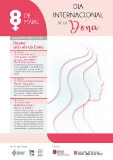 Cartell del Dia Internacional de la Dona 2018