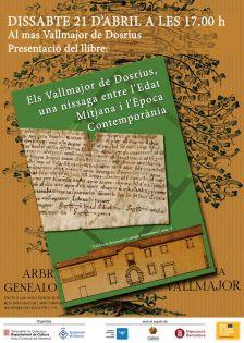 Acte de presentació del llibre 'Els Vallmajor de Dosrius, una nissaga entre l'Edat Mitjana i l'Època Contemporània'