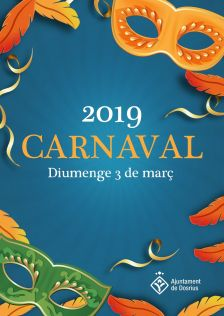 Cartell de la festivitat de Carnaval del 2019