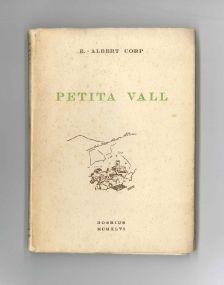 Portada del llibre 'Petita Vall' d'Esteve Albert i Corp