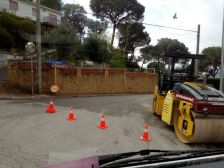 Obres d'arranjament als carrers Tarragona i Lleida