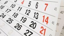 Calendari 2019 de festes locals