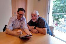 Signatura del conveni de col·laboració entre els ajuntaments de Dosrius i Llinars del Vallès