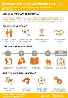 La Generalitat de Catalunya implementa a Dosrius un programa de mentoria pels joves migrants sense referents familiars